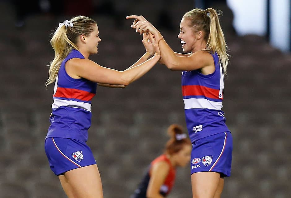 pocket profiles of the bulldogs women s team to face wa