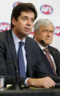 AFL 2015 Media - AFL Broadcast Rights Press Conference