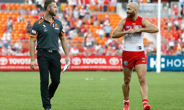AFL 2015 Rd 21 - GWS Giants v Sydney