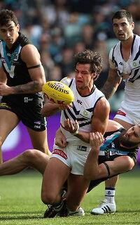 AFL 2015 Rd 23 - Port Adelaide v Fremantle