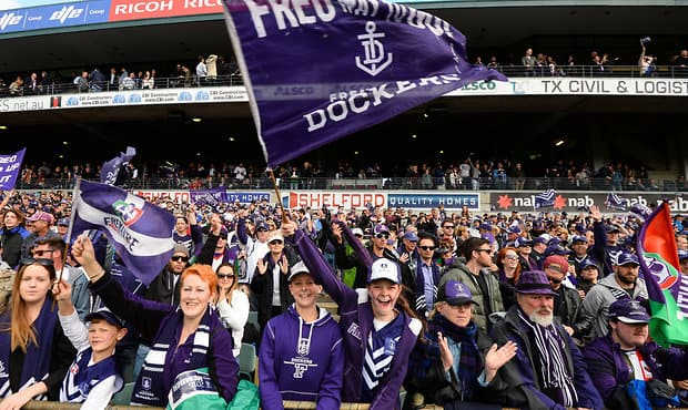 AFL 2015 First Qualifying Final - Fremantle v Sydney
