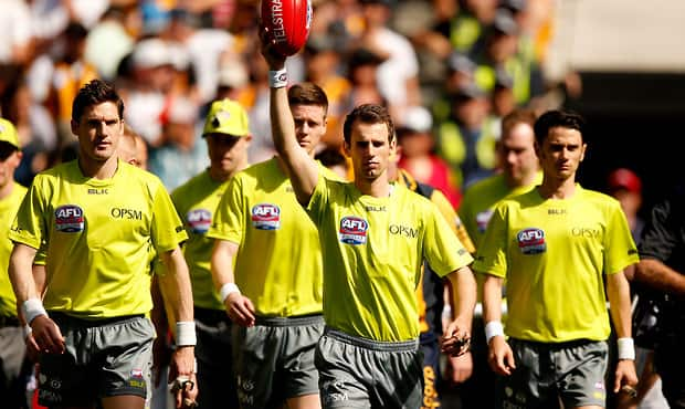 Four Umpires On Hold As Afl Continues Trial