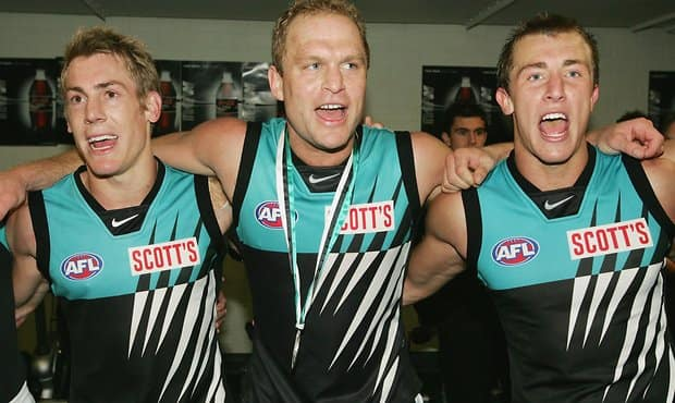 Port Adelaide fan banned for life