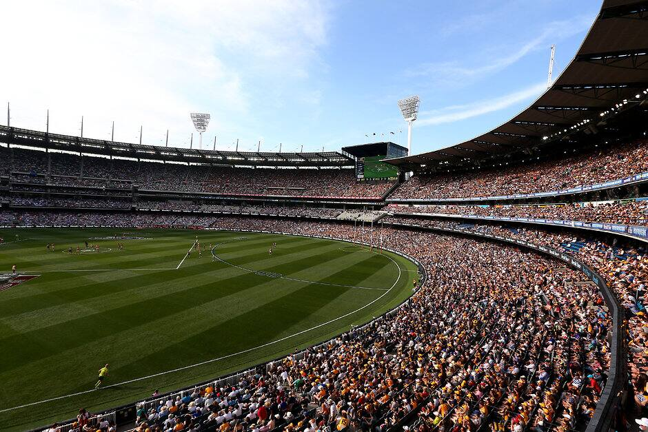 A countdown clock will feature at the MCG in the second half this season, but not for the final two minutes - ${keywords}