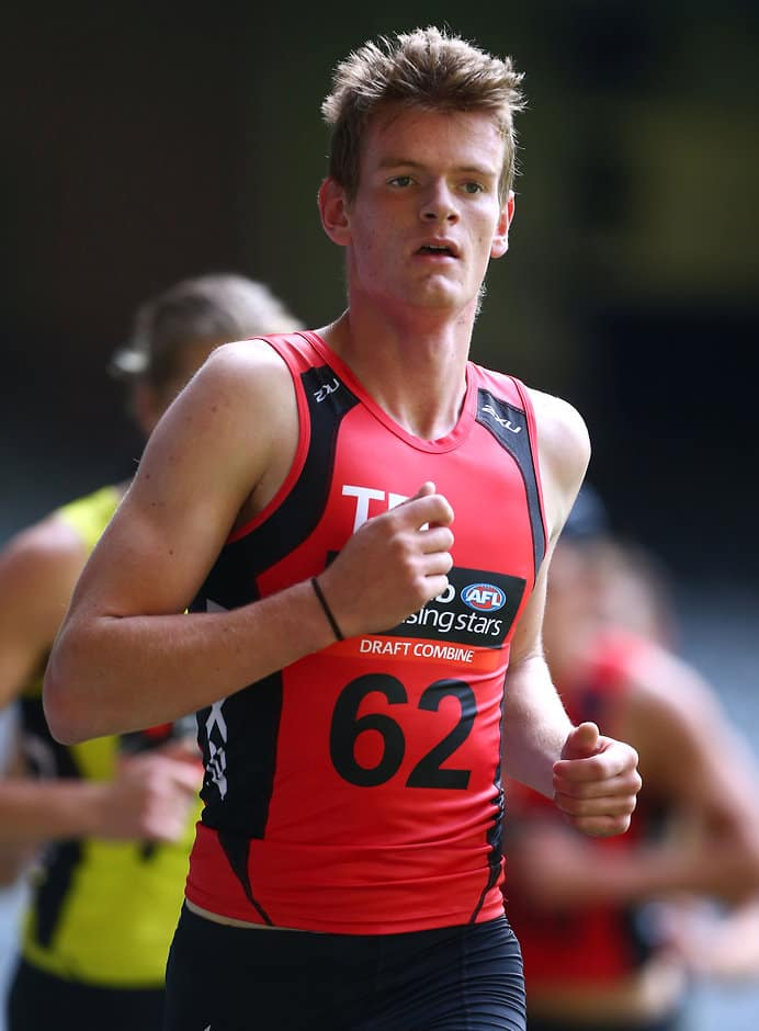 Darragh Joyce in action during the combine - ${keywords}