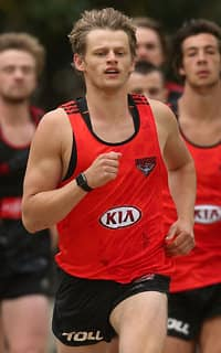 AFL 2015 Training - Essendon 101115