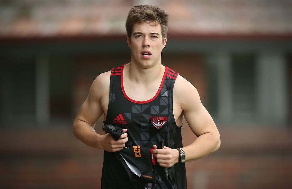 Zach Merrett says he has recovered well from a foot strwss fracture that affected his 2015 season - ${keywords}