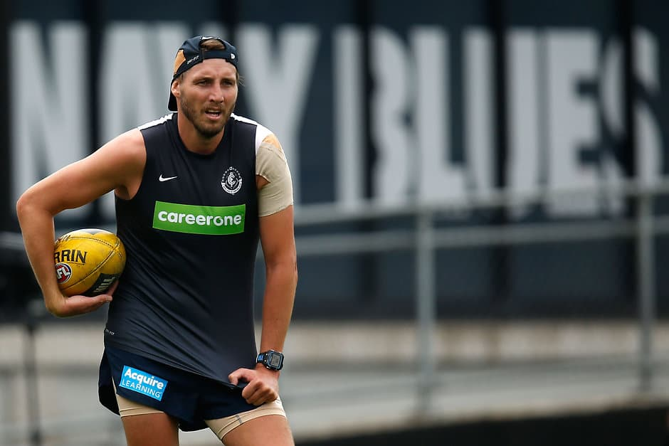 Dale Thomas is back from suspension and likely to come in to face the Swans - ${keywords}
