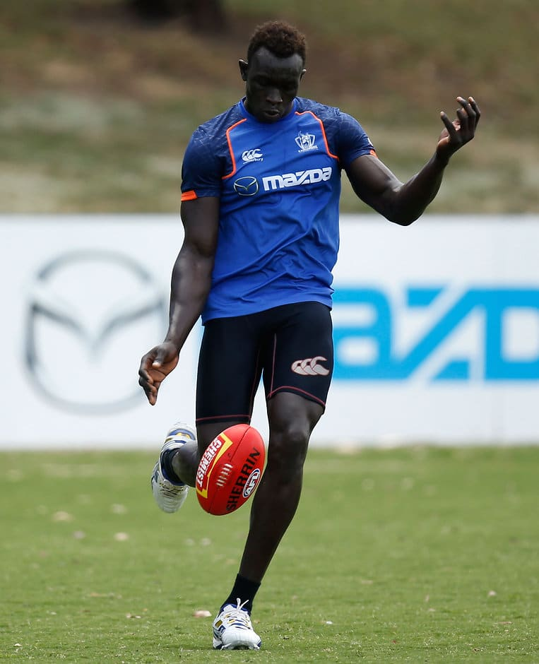 Majak Daw is ready to turn his sole focus to football after a trying year - ${keywords}