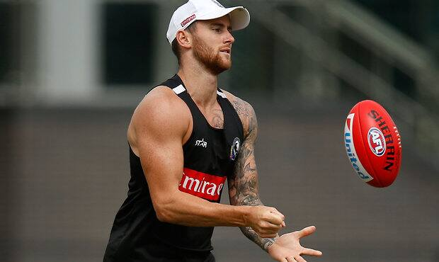 AFL 2015 Training - Collingwood 091215