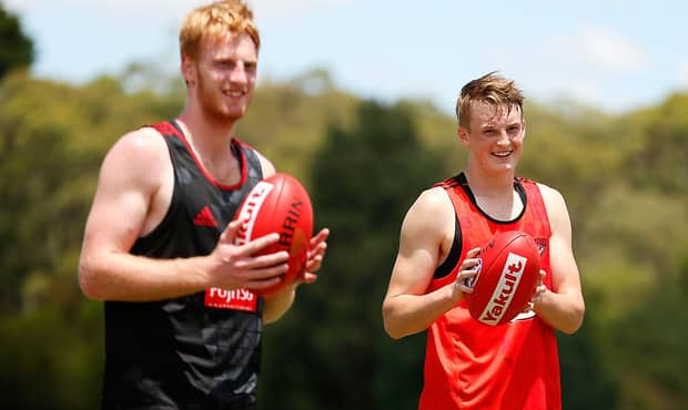 AFL 2015 Training - Essendon 091215