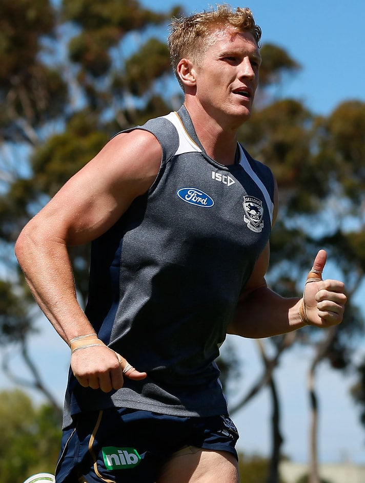 Josh Caddy expects to spend more time forward in the coming season - ${keywords}