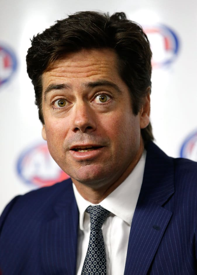 Gillon McLachlan says the AFL will continue to education players about the risks of drug use - ${keywords}