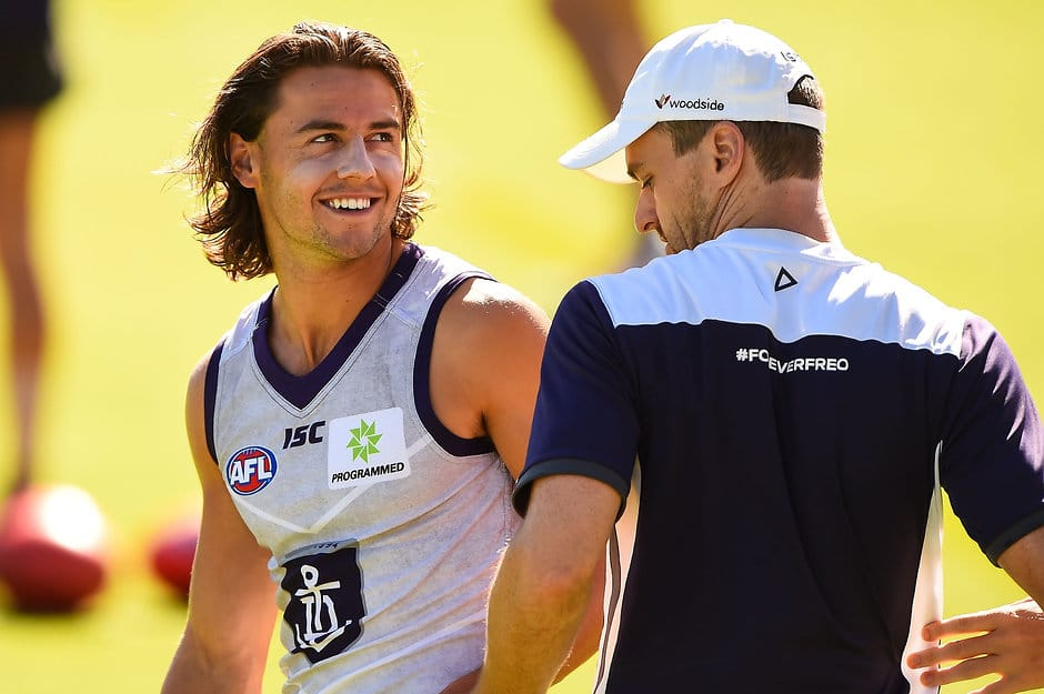 Lachie Weller is loving life at Fremantle - ${keywords}
