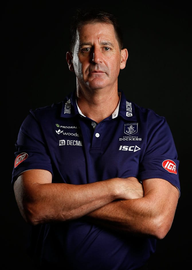 Ross Lyon has signed with Fremantle until the end of 2020 - ${keywords}