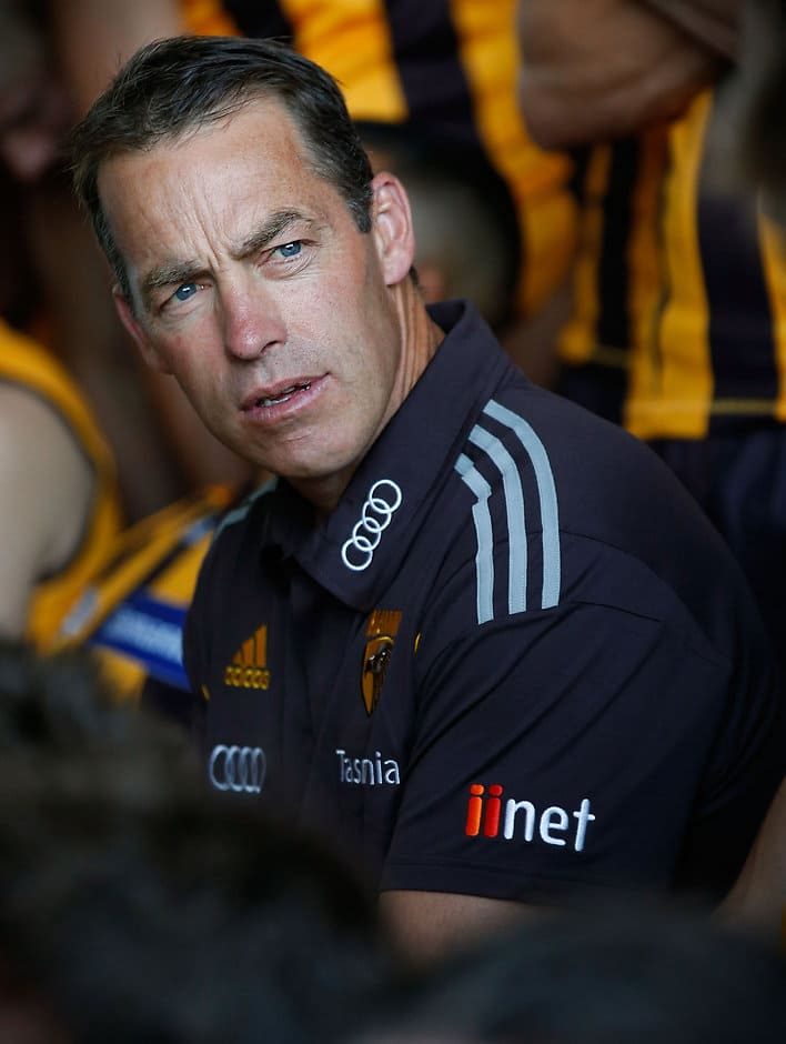 Alastair Clarkson will hand over the coaching job to his assistants during the NAB Challenge - ${keywords}