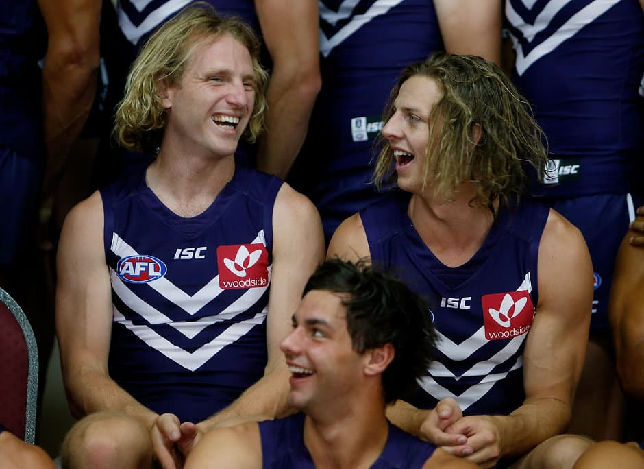 AFL 2016 Media - Fremantle Team Photo Day