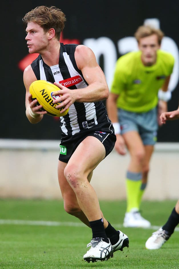 Taylor Adams dominated for the Magpies over North soon after he learned of Paul Couch's death - ${keywords}