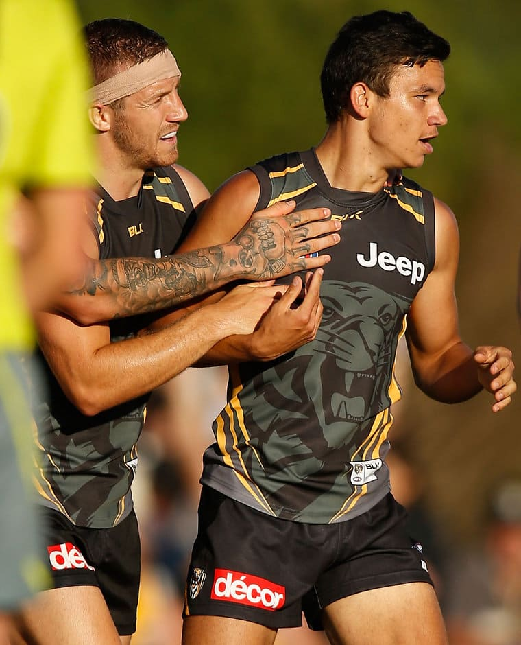 Daniel Rioli kicked one goal and impressed stand-in coach Brendon Lade - ${keywords}