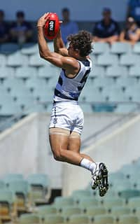AFL 2016 NAB Challenge - Fremantle v Geelong