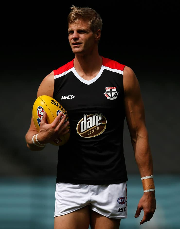 Nick Riewoldt will be fit to face Port Adelaide, his coach says - ${keywords}