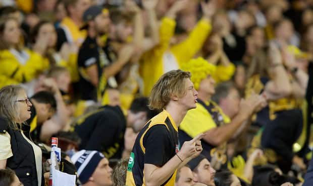 AFL 2016 Rd 01 - Richmond v Carlton