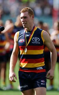 Tom Lynch won his first Showdown Medal in Round Two, 2016