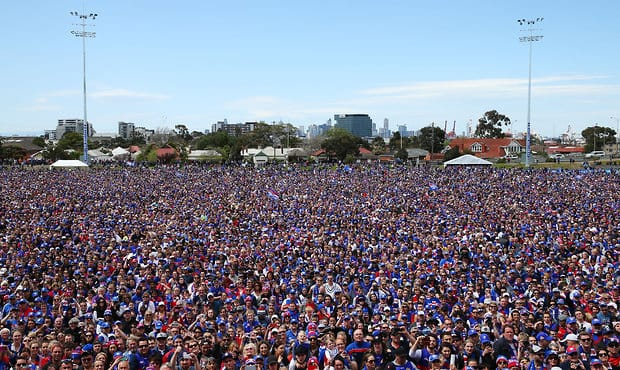 AFL 2016 Media - Western Bulldogs Family Day