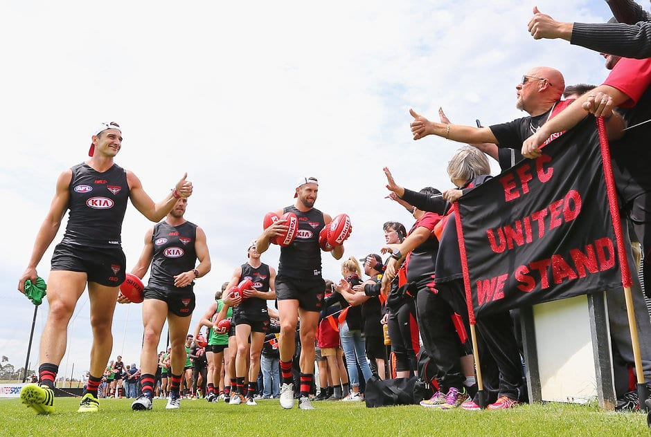 Many happy returns as banned Dons arrive for training