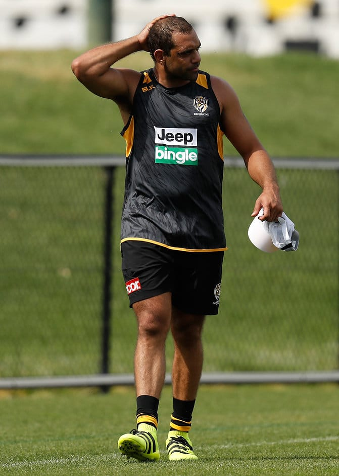 Chris Yarran has been released by the Tigers - ${keywords}