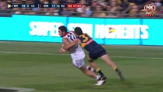 McCartin cops another head knock