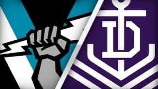 Highlights: Fremantle v Port Adelaide