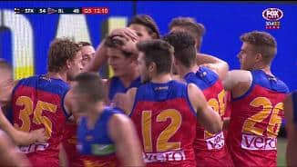 Lions mob Berry after first goal