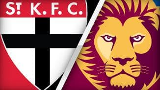 Highlights: St Kilda v Brisbane Lions