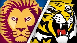 Highlights: Brisbane Lions v Richmond