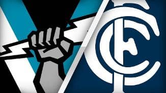 Highlights: Port Adelaide v Carlton