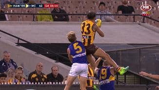 Red-hot Rioli goes for a ride