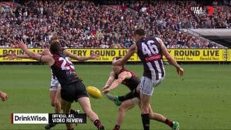 Score review goes against the Pies