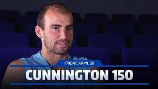 April 28, 2017: Cunnington on 150 games
