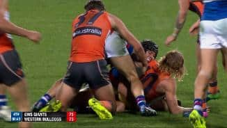 Watch the last two minutes: GWS v WB