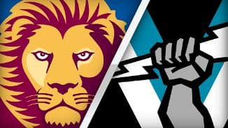 Match highlights: Brisbane Lions v Port Adelaide