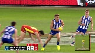 Higgins' hustle sets up Simpkin