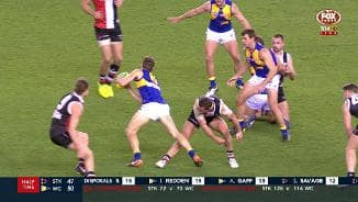 Dunstan on report for tripping
