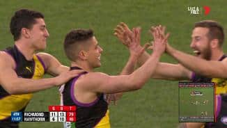 Prestia punishes Hawks with precision