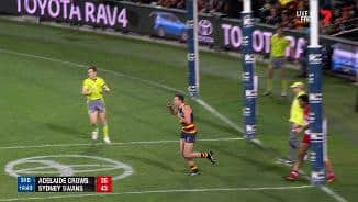Crows' scintillating second-half start