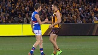 Bob and Hodge's final salute (Rd23)
