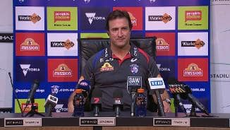 Press Conference: Beveridge Post Match (Rd23)