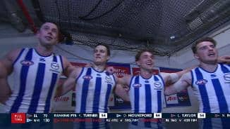 Team song: North Melbourne