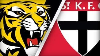 Highlights: Richmond v St Kilda (27/8)