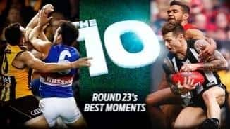 The 10:best moments of round 23